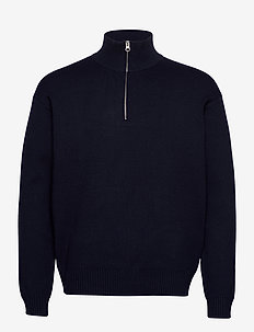 Guna turtle neck zip 10490 - half zip - sky captain