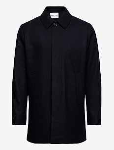 Kenpo x coat 12825 - uldfrakker - sky captain