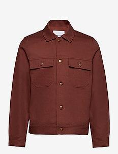 Veron jacket 12832 - overshirts - cinnamon