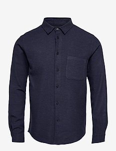 Liam NF shirt 7383 - oxford-skjorter - night sky mel.