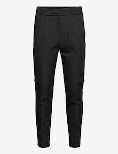Smithy cargo trousers 12805 - cargobukser - black