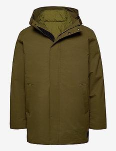 Misam jacket 11234 - parkas - dark olive