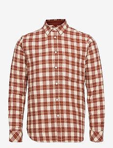Liam NP shirt 12961 - denimskjorter - brandy brown ch.