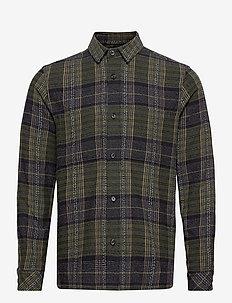 Waltones O overshirt 13042 - ternede skjorter - kambu green ch.
