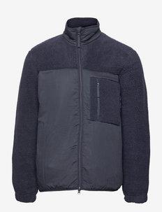 Tim full zip 11705 - teddy-truien - sky captain