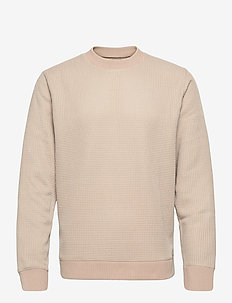 Ebbe crew neck 11595 - basic sweatshirts - humus