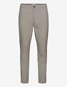 Frankie trousers 13079 - kostymbyxor - humus ch.