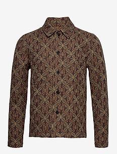 Milano jacket 12849 - tunna jackor - chocolate salaba