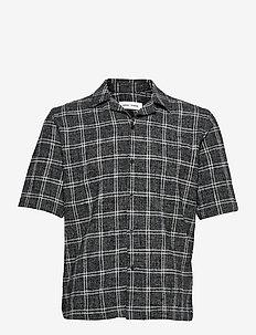 Oscar AX shirt 14050 - koszule w kratkę - black ch.