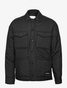 Tony shirt jacket 11684 - kleding - black