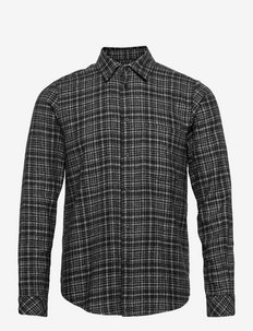 Liam NP shirt 7383 - linnen overhemden - deep depths ch.