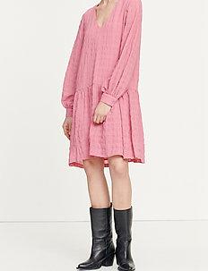 Millo ls dress 12890 - korta klänningar - wild rose