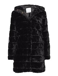 Saba long jacket 7309 - BLACK