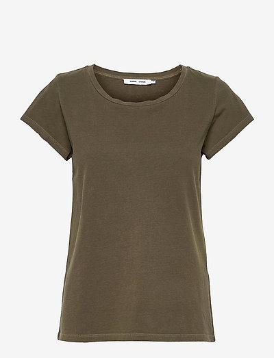 Liss ss gd 3174 - t-shirts - dark olive