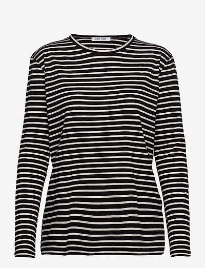 Nobil t-shirt ls st 205 - langærmede toppe - black st.