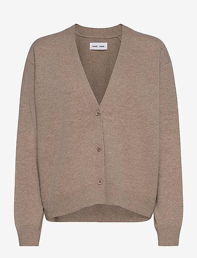 Amaris short cardigan 12758 - cardigans - khaki mel.