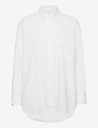 Luana shirt 13072 - long-sleeved shirts - white