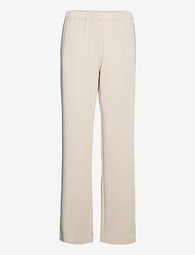 Hoys straight pants 7331 - sirge säärega püksid - quicksand