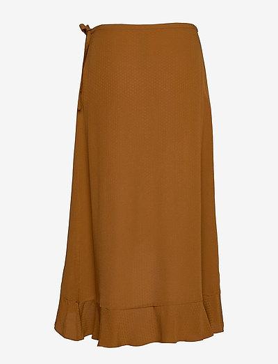 Samsøe Limon L Wrap Skirt 10458- Röcke Monks Robe