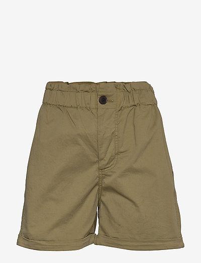 Tournon shorts 11303 - paper bag shorts - air khaki