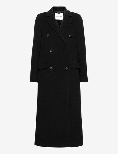 Falcon coat 11104 - uldfrakker - black