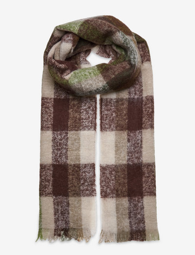 Corunda scarf 12873 - halstørklæder - green multi ch.