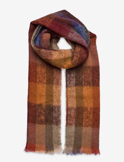 Corunda scarf 12873 - halstørklæder - orange multi ch.