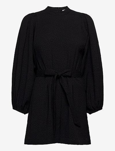 Harriet short jumpsuit 11402 - clothing - black flower