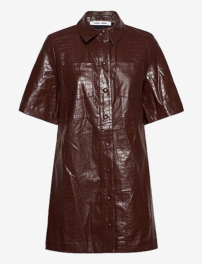 Myla dress 13102 - everyday dresses - chocolate fondant