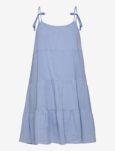 Sarah dress 11463 - midi dresses - brunnera blue