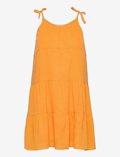Sarah dress 11463 - sommerkjoler - jurassic gold