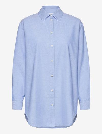 Haley shirt 13163 - denimskjorter - brunnera blue