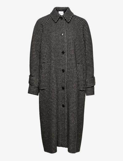 Alma b coat 13183 - vinterfrakker - black ch.