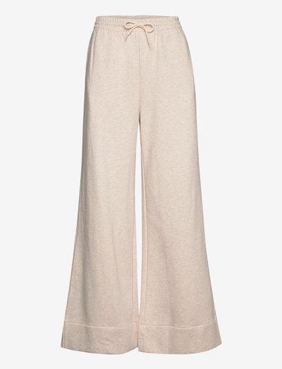 Elli trousers 14123 - wide leg trousers - whisper white mel.