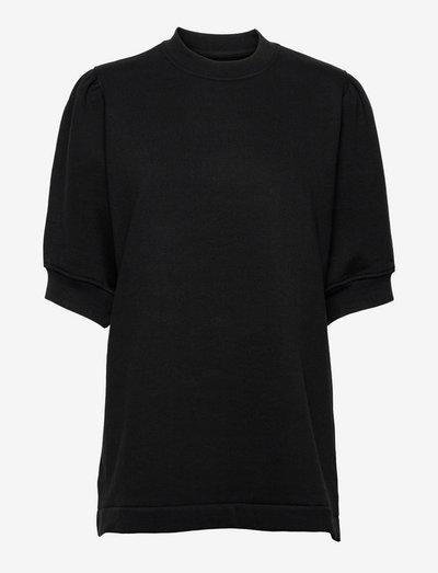 Bodil crew neck 10902 - t-shirt & tops - black