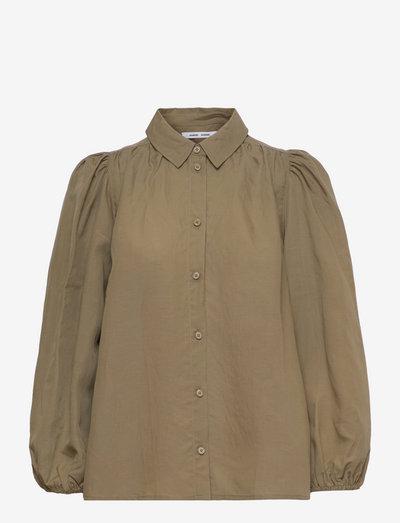 Mejsa shirt 12771 - langærmede skjorter - covert green