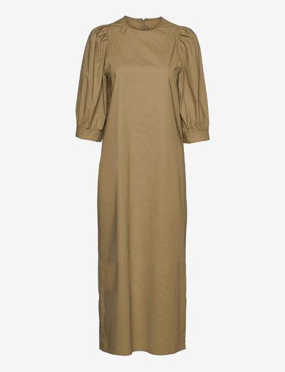 Celestina long dress 10783 - sommerkjoler - covert green