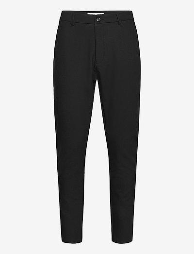 Frankie regular trousers 11686 - chino's - black
