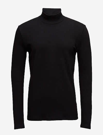 Merkur t-n ls 200 - t-shirts basiques - black