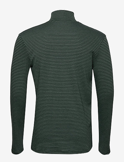 Samsøe Merkur Stripe T-n Ls 200- T-shirty D. Spruce St
