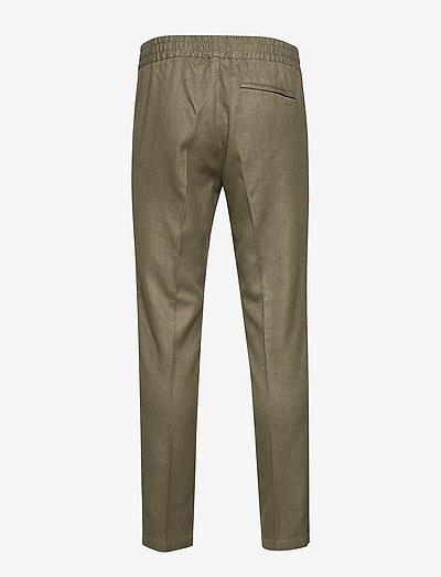Samsøe Smithy Trousers 11387- Hosen Deep Lichen Green