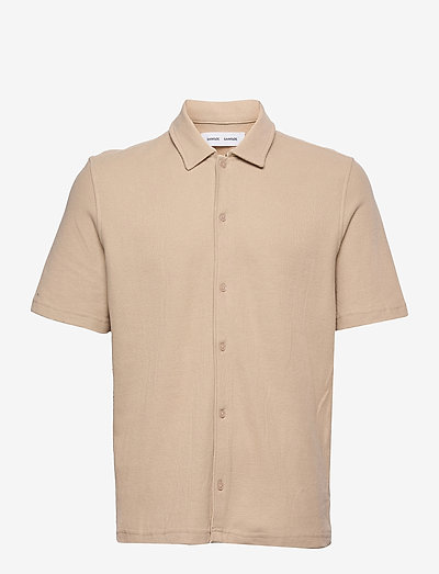 Kvistbro shirt 11565 - linneskjortor - humus