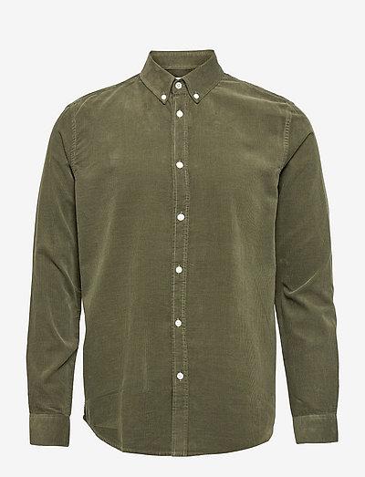 Liam BX shirt 10504 - chemises de lin - deep depths