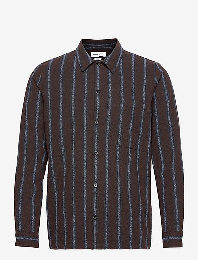 Taka JY shirt 12972 - checkered shirts - black coffee st.