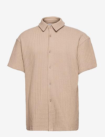 Akoko shirt 11602 - lyhythihaiset - humus