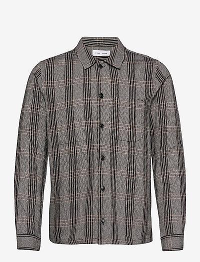 Ruffo JC shirt 11381 - denimowe koszulki - black