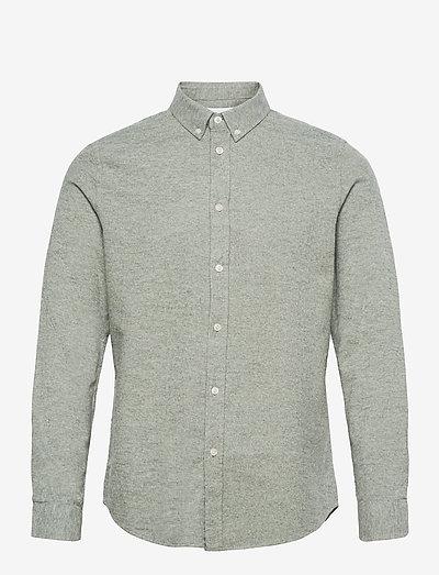 Liam BX shirt 14039 - koszule w kratkę - seagrass