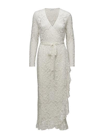 Limona l wrap dress 10591 - WHITE