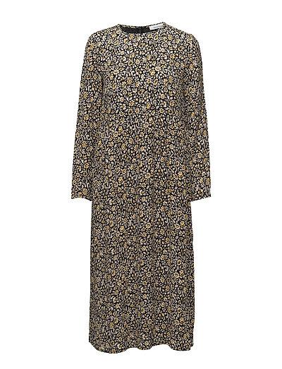 Raven dress aop 6616 - PETIT JAUNE