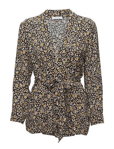 Marigold kimono aop 6616 - PETIT JAUNE